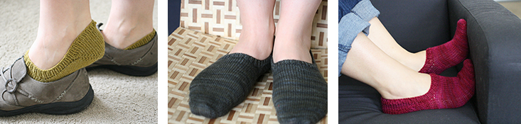 Footie Socks, 7, 9, & 6 spi
