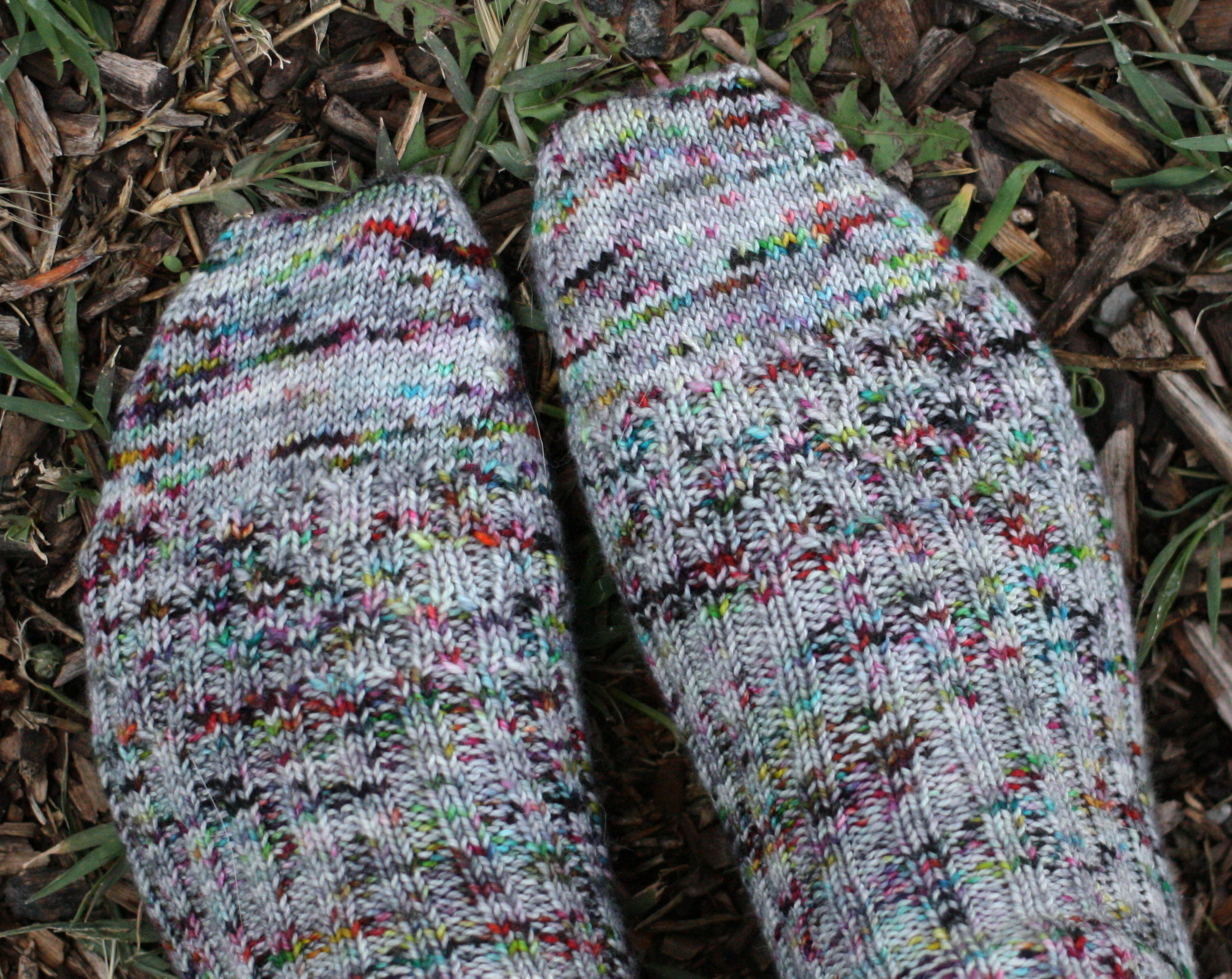 Shifty Rib Socks - Miriam Felton